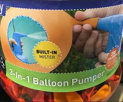 Balloon Pump Cross Sells As Mister