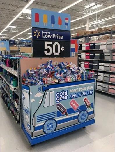 Cool Gear Ice Pop Endcap Ice Cream Truck