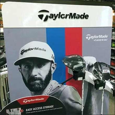 Taylor Made Golf Club Hangrail Display