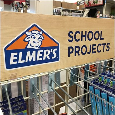 Elmers Glue Back-To-School Projects Island
