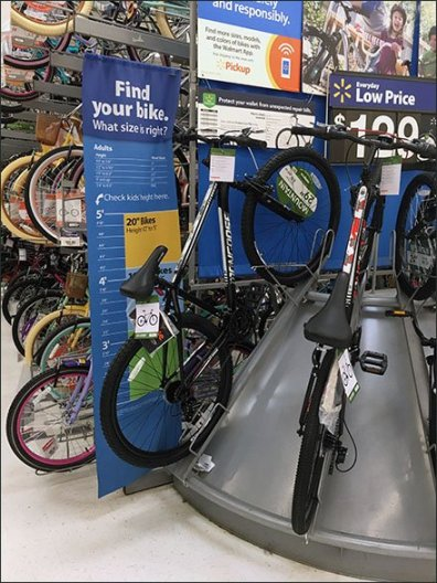 Find Your Right Bike Size Banner