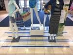 Floor Graphic For Stage Blocking Merchandising