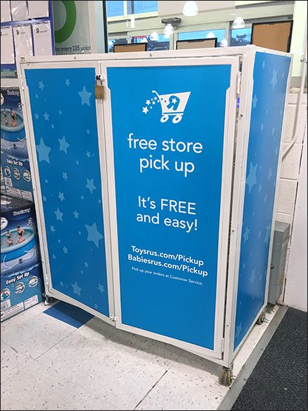 Online Pickup Under Lock-and-Key In-Store