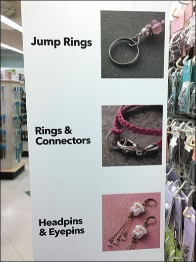 Jewelry Component Menu Category Definition