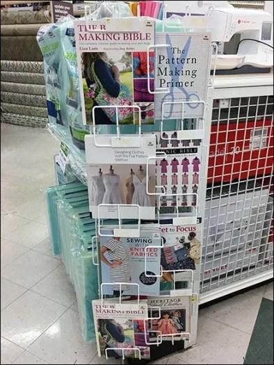 Vertical Open Wire Book Merchandiser