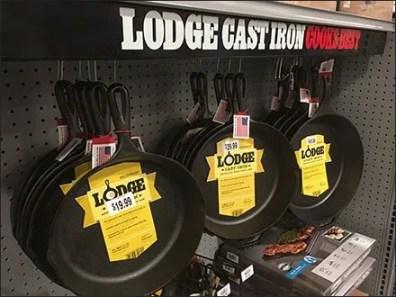 Cast Iron Cookware Under Shelf Hang Rod