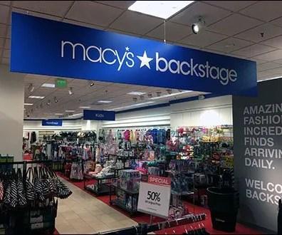 Macys Backstage Takes Centerstage