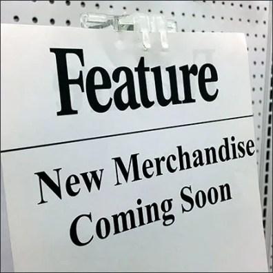 New Merchandise Coming Soon Announcement
