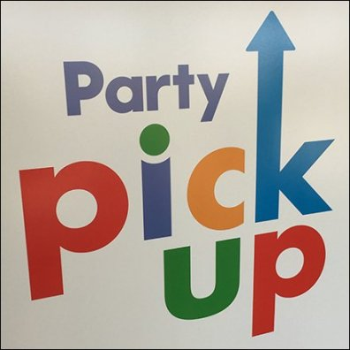 Party Pick Up Advertising In Store