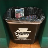 Pennsylvania Lottery Waste Recycling Built-In