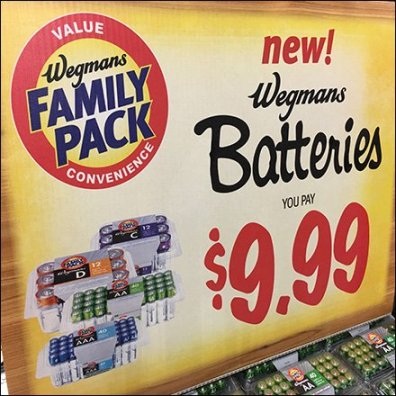 Family Pack Private Label Batteries in Bulk