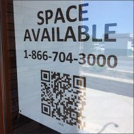 Realtor QR Code Link to Retail Space Available