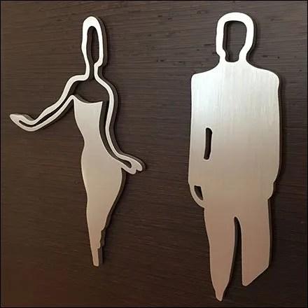 Sub-Zero Showroom Restroom Navigation Sophistication