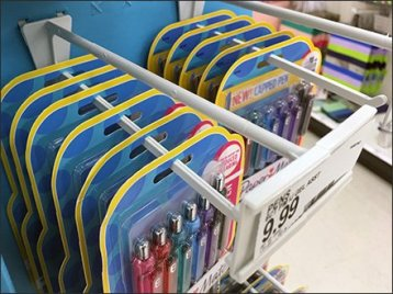 Sharpie and PaperMate Plastic Scan Hook