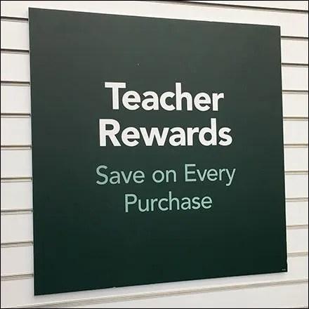 Teachers Rewards Save On Every Purchase
