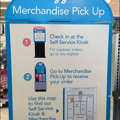 Self Service Navigation to Self Service Kiosk