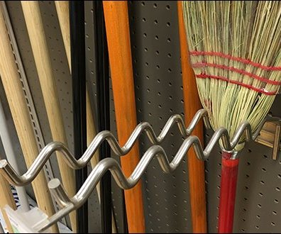 Undulating Corn Broom Hooks and Whisk Broom Hooks