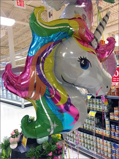 Hitching Post for Unicorn Balloons