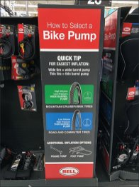 How To Select A Bicycle Pump Instructions