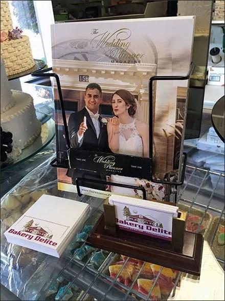 Bakery Wedding Planner In-Store Giveaway