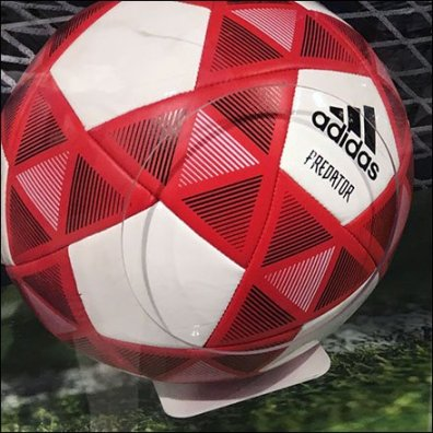 Adidas Soccer Ball Reach-In Museum Case