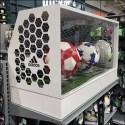 Adidas Soccer Goal Hexagonal Branding