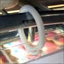 Butter Cookie Split-Ring Vinyl Hang Tag