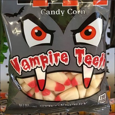 Brachs Vampire Teeth Candy Corn