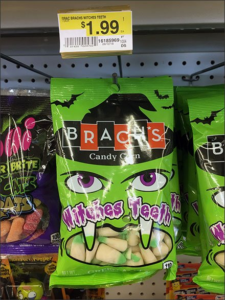 Brachs Witches Teeth Candy Corn