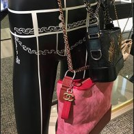Chanel Stylized Painted Purse Mannequins