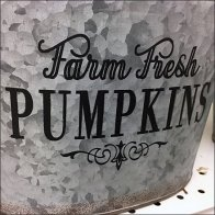 Farm Fresh Galvanized Buckets and Pails