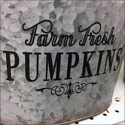 Farm Fresh Galvanized Buckets and Pails