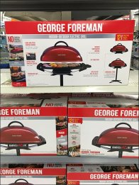 George Foreman Grill Goes Outdoors