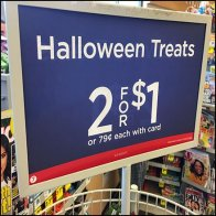 Halloween Treats Two-Fer With Loyalty Card
