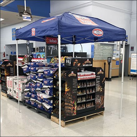 Kingsford Tented Pavilion for Match Light Charcoal