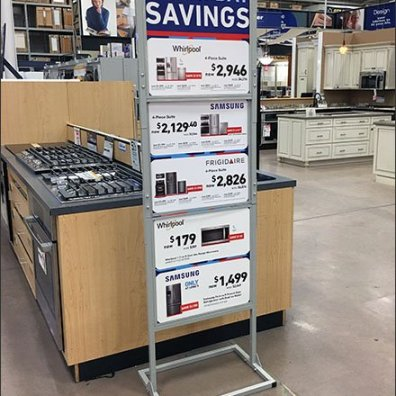 Multi-Brand Labor Day Savings Sign