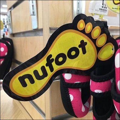 NuFoot Branding Rivals Product Size