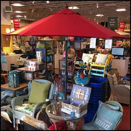 Patio Umbrella Merchandising Prop