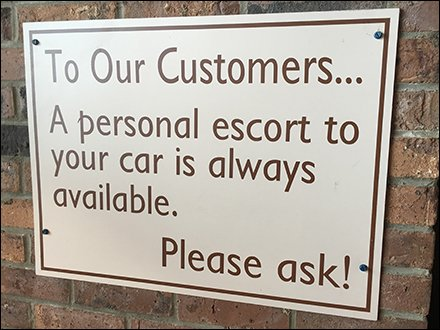 Personal Escort Services As Retail
