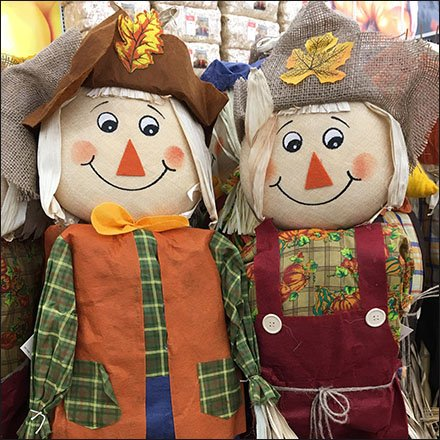 Scarecrow Military Square Massed Merchandising