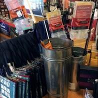 Galvanized Bucket Trout Fishing Display