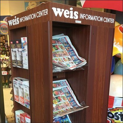 Store Entry Information Center by Weis