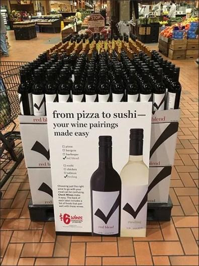 Wonderful $6 Wine Pairings at Wegmans