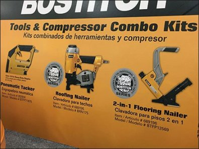 Bostitch Compressor Hero On Display