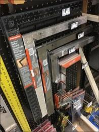 Carpenter Square Metal Plate Hook Array
