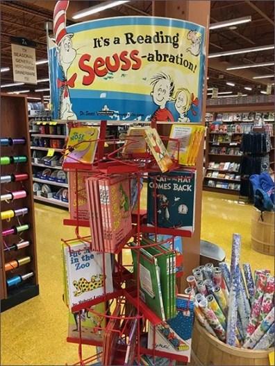 Children's Book Spinner Celebrates Seuss