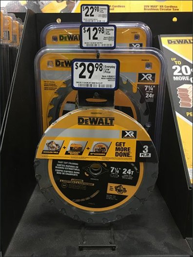 DeWalt Circular Saw Blade Waterfall Hook