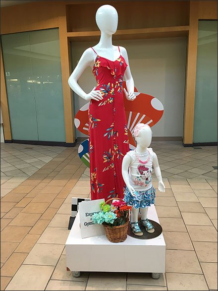 Express and Gymboree Mall Co-op Advertising 3