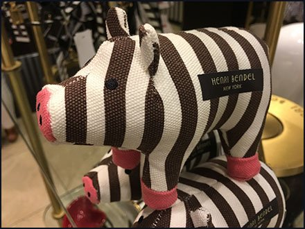 Henri Bendel Piggy Pyramid Merchandising