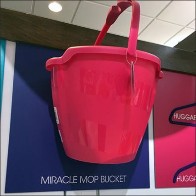 Joy Mangano Miracle Bucket Wall Mount